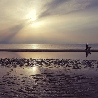 Het strand op 200 meter afstand